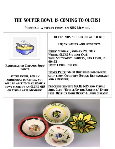 NHS hosts the SOUPer Bowl