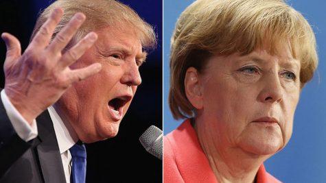 Merkel Calls Out Trump From Across the Atlantic