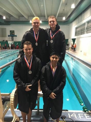 Senior Swimmers Make Waves at Conference