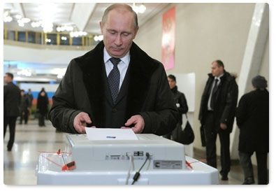 Russian Election: A Slightly Cleaner Farce