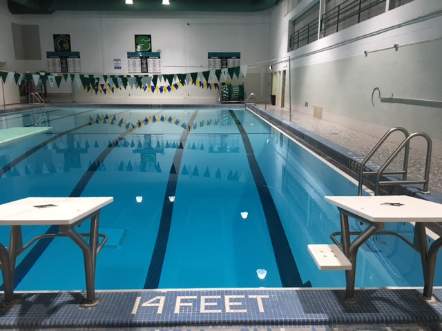 The Oak Lawn pool, home of our swim team.