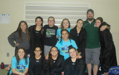 Lady Spartans Break Swim Record