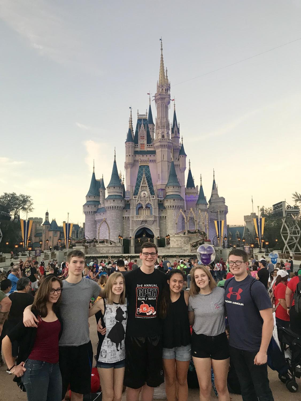 Frankie, Jeremy, Emily, Alex, Mia, Cassidy, and Tyler
