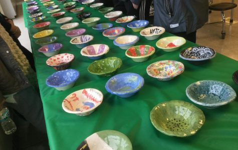 National Honor Society and Visual Arts Club Host Souperbowl Fundraiser