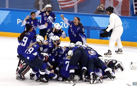 USA Women's Hockey Wins Gold