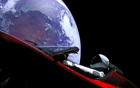 The First Car in Space?