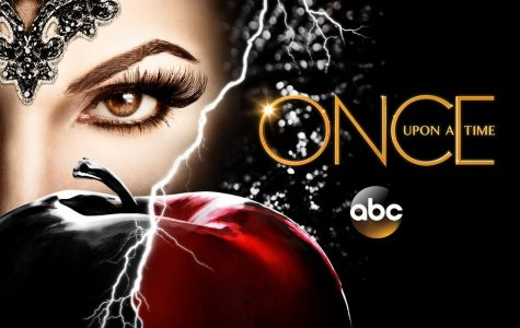"A poster featuring the Evil Queen from ""Once Upon A Time."""