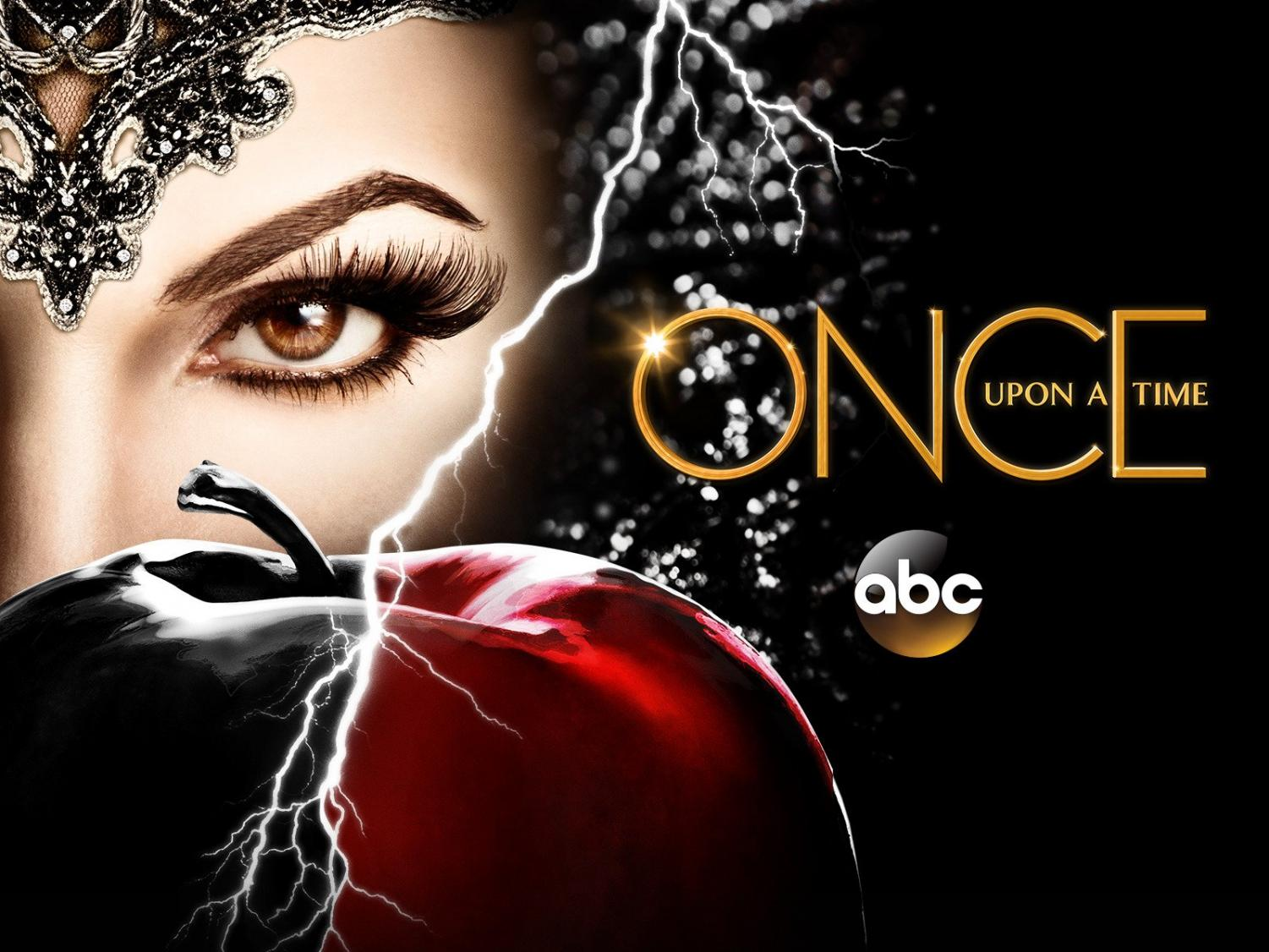 """A poster featuring the Evil Queen from """"Once Upon A Time."""""""