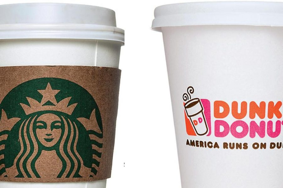 Starbucks vs. Dunkin': Which do you prefer?