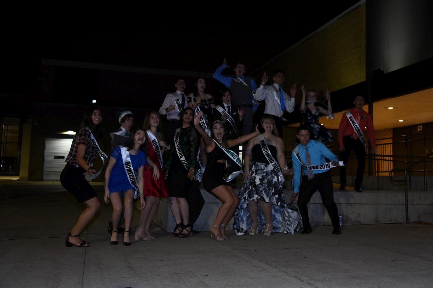 Homecoming court, all taken together.
