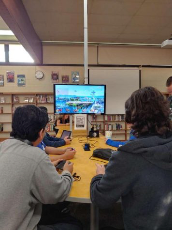 Video Game Club Advances Level of Competition