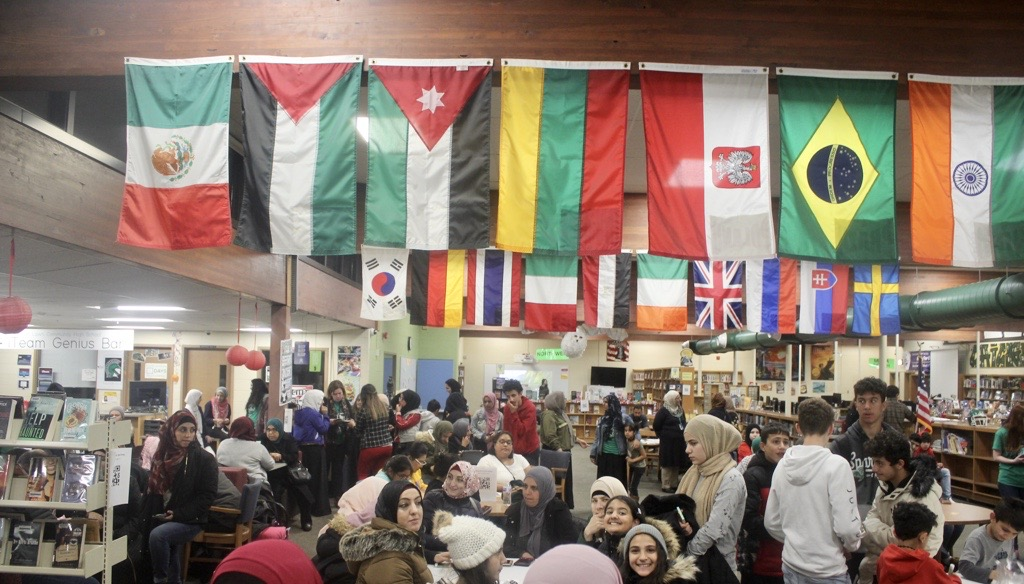 115 members of the Arabic speaking community and 22 members of the Spanish speaking community attended the event.