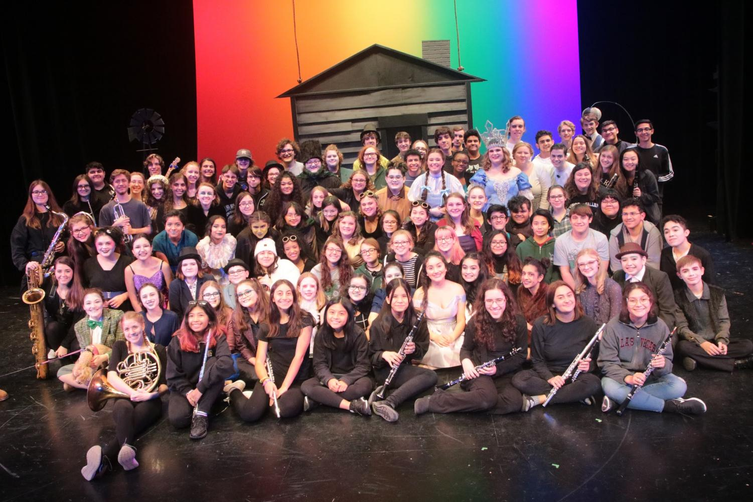 The OLTD cast, crew, and pit had an amazing performance