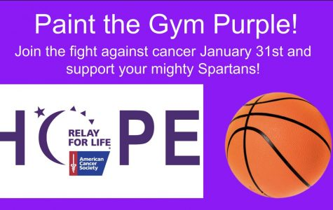 Basketball Teams Prepare to 'Paint the Gym Purple'