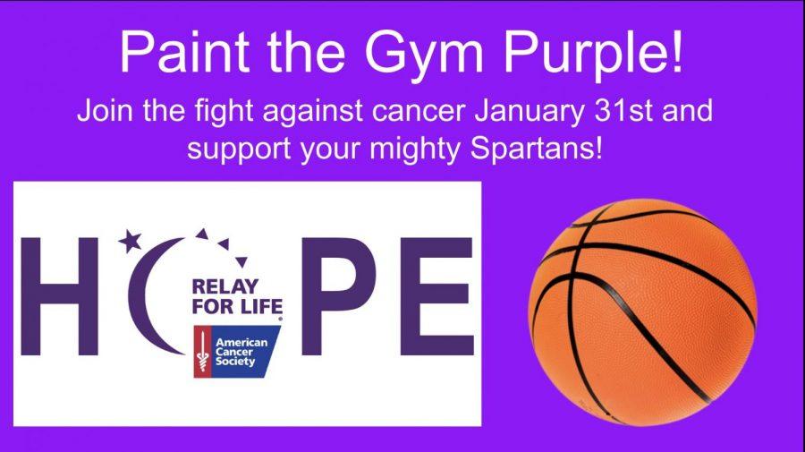 Basketball Teams Prepare to 'Paint the Gym Purple'